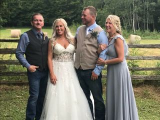 The wedding of Jenna Kenwell and Curtis Kenwell  2