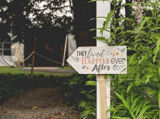 The wedding of Rachel and Tim 1