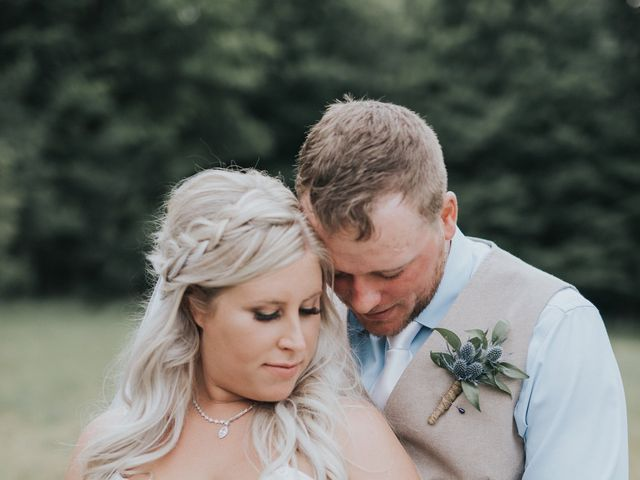 The wedding of Jenna Kenwell and Curtis Kenwell