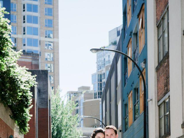 Alex and Rebecca's wedding in Vancouver, British Columbia 13
