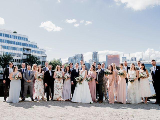 Alex and Rebecca's wedding in Vancouver, British Columbia 35