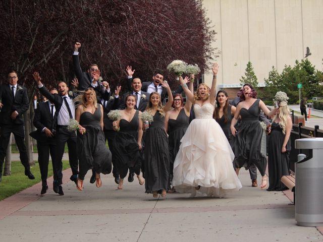 Brett and Kaitlyn's wedding in Calgary, Alberta 1