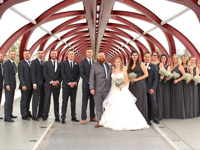 Brett and Kaitlyn's wedding in Calgary, Alberta 8