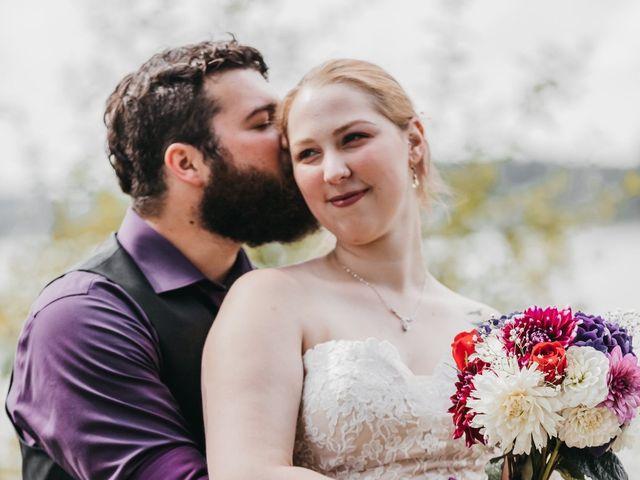 The wedding of Naomi  and Logan