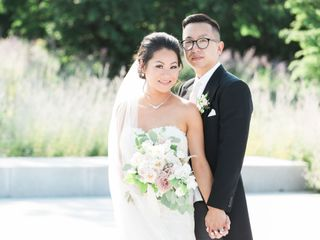 The wedding of Teresa and Tim