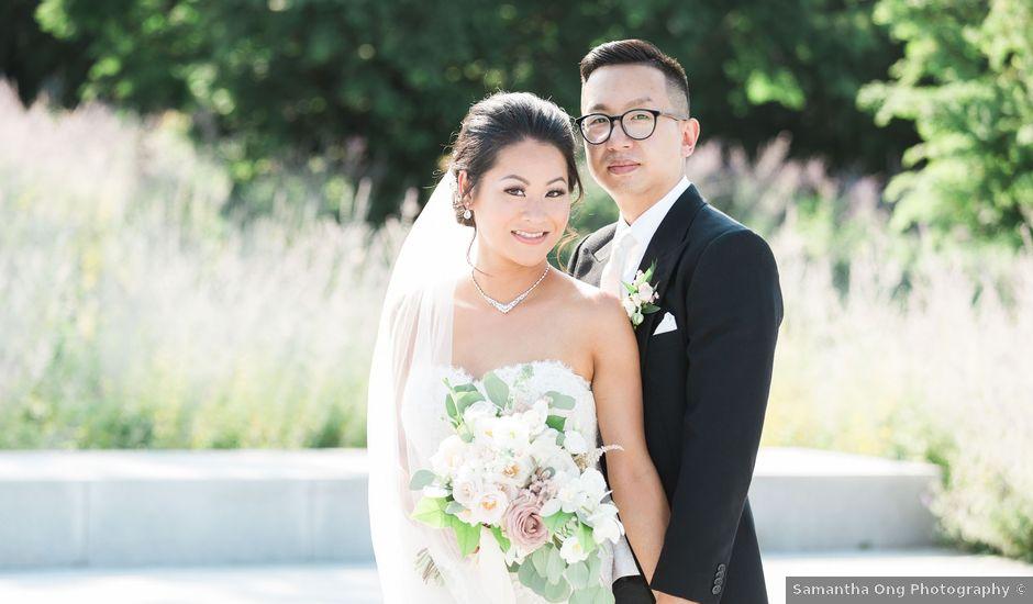 Tim and Teresa's wedding in Toronto, Ontario