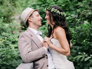 The wedding of Dannielle and Jesse