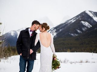 The wedding of Kyrstin and Trent