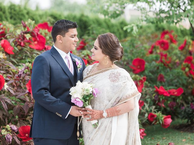 The wedding of Anum and Hussein