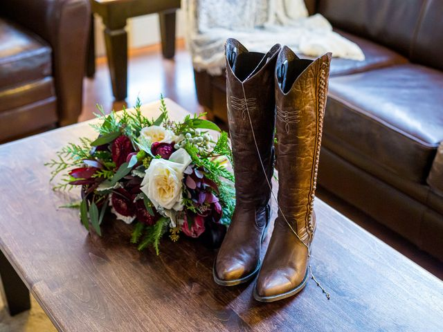 Trent and Kyrstin's wedding in Canmore, Alberta 5