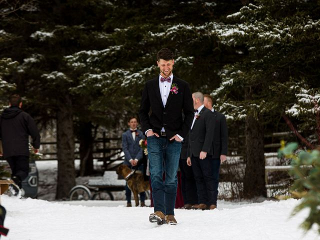 Trent and Kyrstin's wedding in Canmore, Alberta 28
