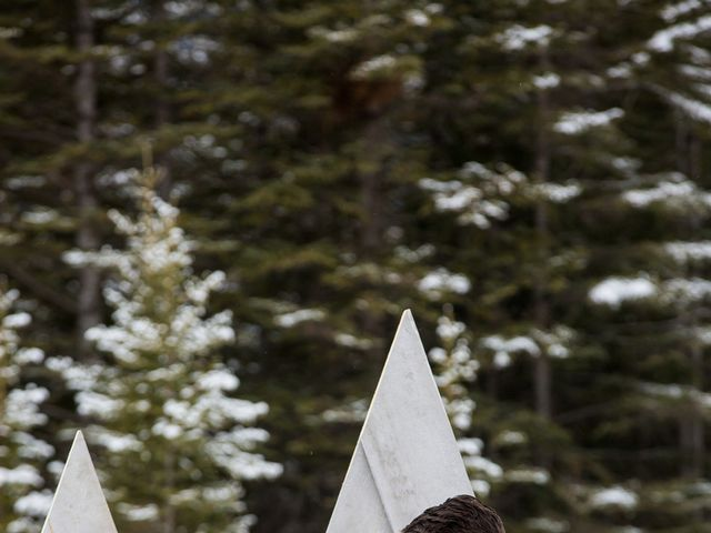 Trent and Kyrstin's wedding in Canmore, Alberta 42
