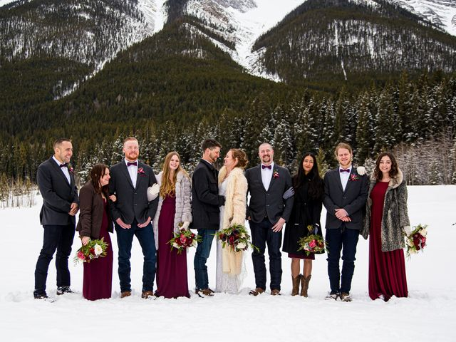 Trent and Kyrstin's wedding in Canmore, Alberta 48