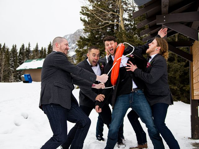 Trent and Kyrstin's wedding in Canmore, Alberta 52
