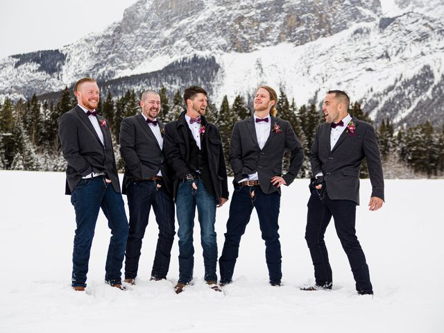 Trent and Kyrstin's wedding in Canmore, Alberta 53