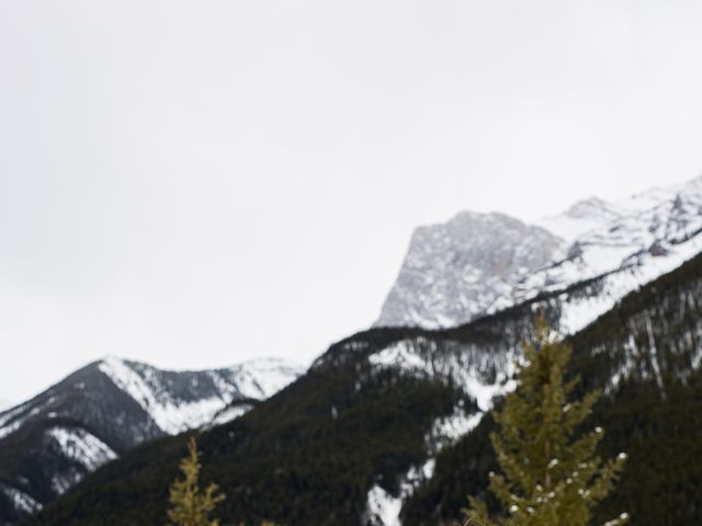 Trent and Kyrstin's wedding in Canmore, Alberta 64