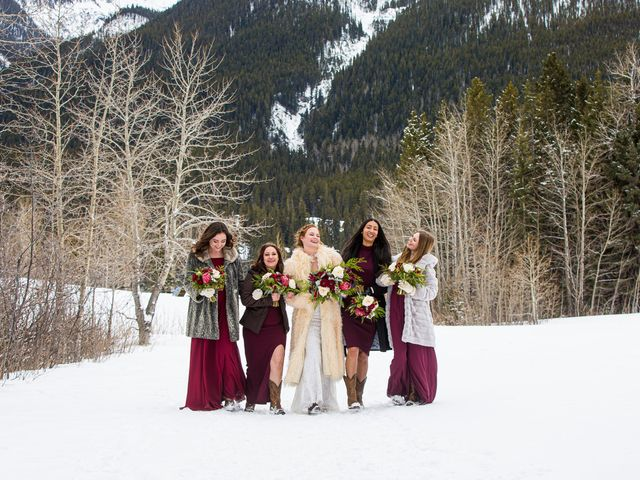 Trent and Kyrstin's wedding in Canmore, Alberta 66