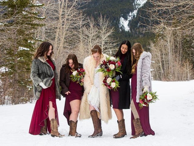 Trent and Kyrstin's wedding in Canmore, Alberta 68