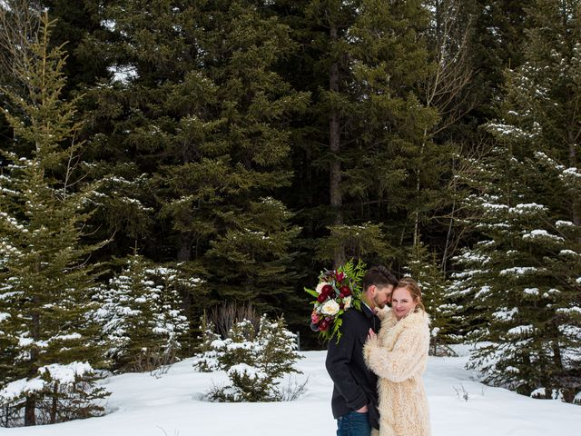 Trent and Kyrstin's wedding in Canmore, Alberta 72