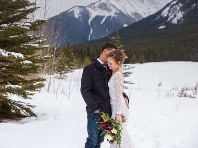 Trent and Kyrstin's wedding in Canmore, Alberta 75