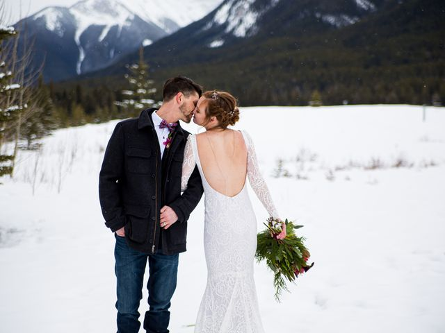 Trent and Kyrstin's wedding in Canmore, Alberta 79