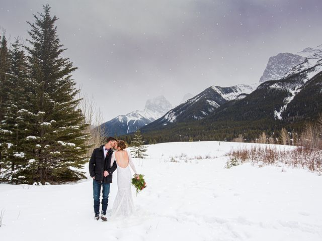Trent and Kyrstin's wedding in Canmore, Alberta 80