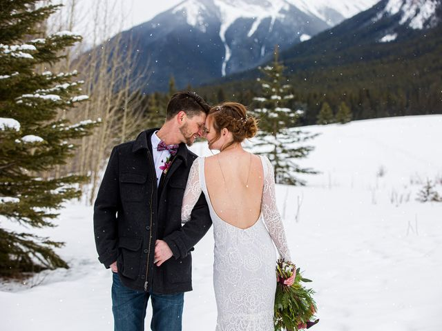 Trent and Kyrstin's wedding in Canmore, Alberta 81