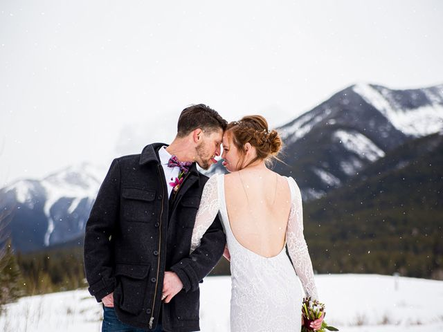 Trent and Kyrstin's wedding in Canmore, Alberta 83