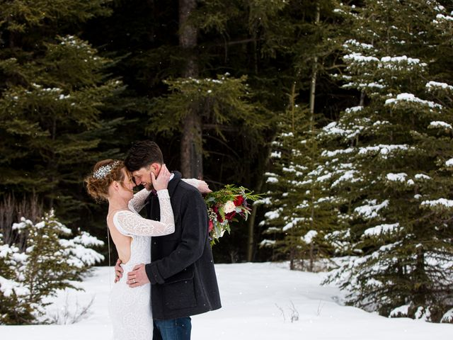 Trent and Kyrstin's wedding in Canmore, Alberta 87