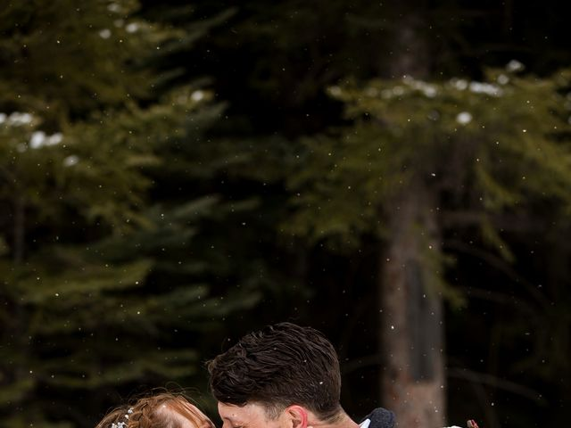 Trent and Kyrstin's wedding in Canmore, Alberta 88