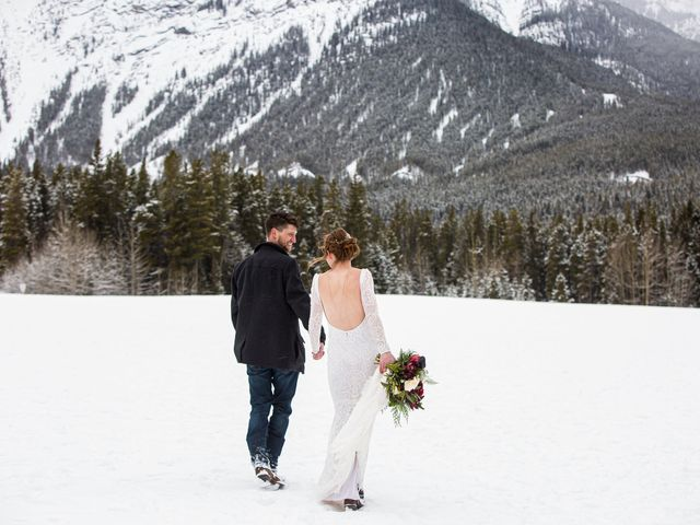 Trent and Kyrstin's wedding in Canmore, Alberta 89