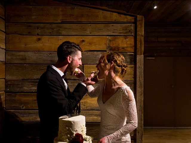Trent and Kyrstin's wedding in Canmore, Alberta 101
