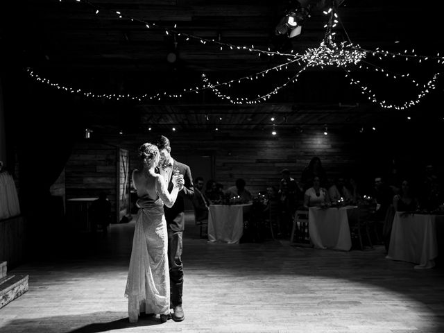 Trent and Kyrstin's wedding in Canmore, Alberta 110