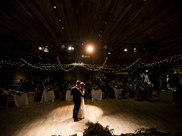 Trent and Kyrstin's wedding in Canmore, Alberta 2