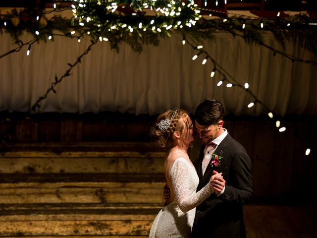Trent and Kyrstin's wedding in Canmore, Alberta 112
