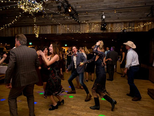 Trent and Kyrstin's wedding in Canmore, Alberta 115