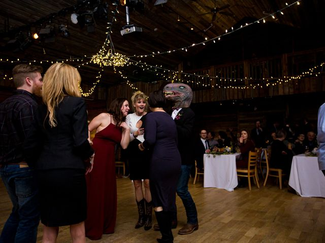Trent and Kyrstin's wedding in Canmore, Alberta 124