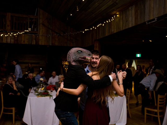 Trent and Kyrstin's wedding in Canmore, Alberta 125