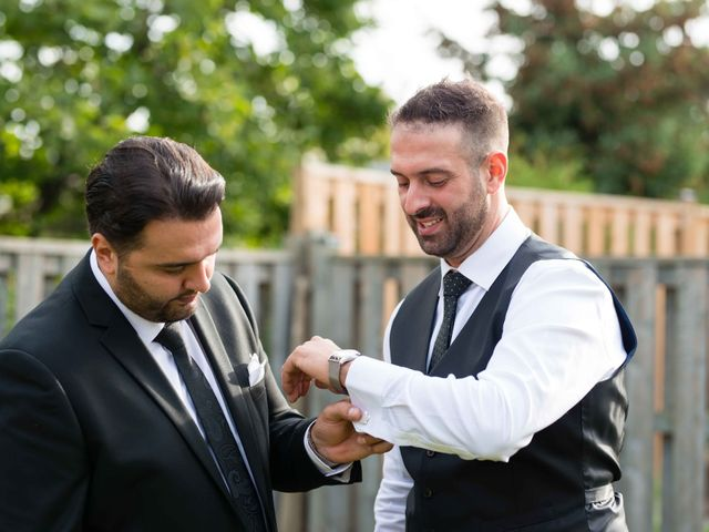 Nick and Stephanie's wedding in Mississauga, Ontario 6