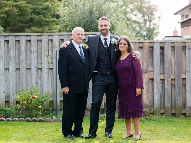 Nick and Stephanie's wedding in Mississauga, Ontario 8