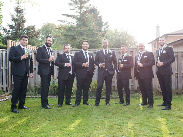 Nick and Stephanie's wedding in Mississauga, Ontario 9