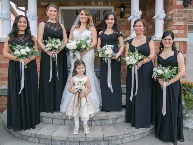 Nick and Stephanie's wedding in Mississauga, Ontario 25