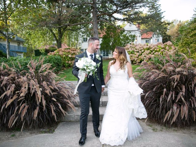 The wedding of Stephanie and Nick