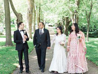 The wedding of Salimah and Fariz 1