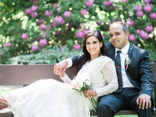 The wedding of Salimah and Fariz