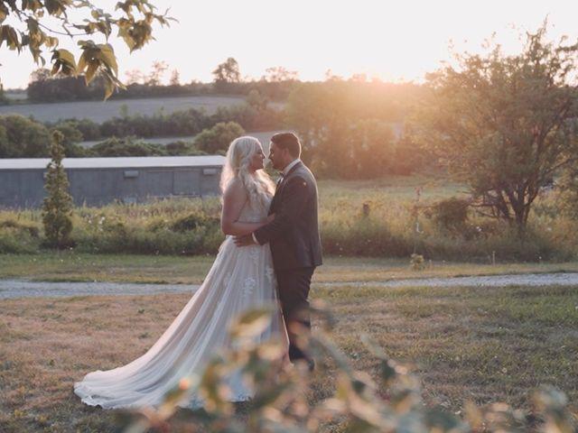 The wedding of Kayla and Dan