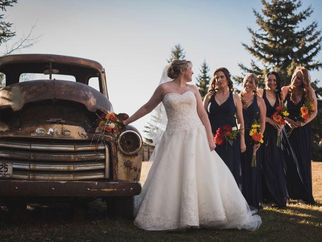 Joel and Danielle's wedding in Spruce Grove, Alberta 4