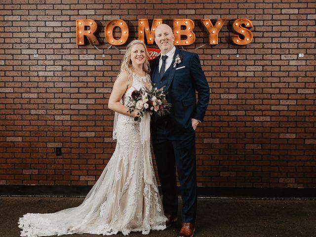 The wedding of Kalyna and Corey