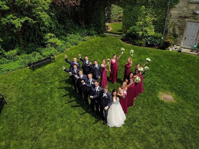 The wedding of Emily and Gary