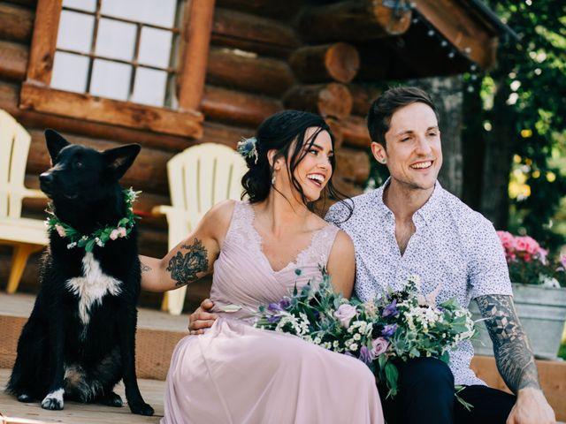 The wedding of Laura and Matt